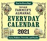 The 2021 Old Farmer's Almanac Everday Calendar