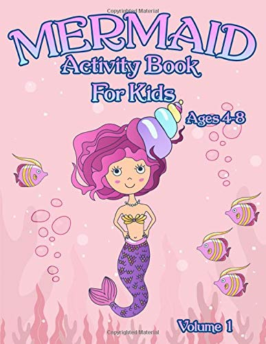 Mermaid Activity Book: For Kids Age…