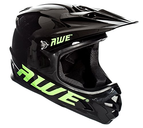 AWE AWEBlast libre 5 Año Crash de repuesto * BMX Downhill casco negro Medium 56 - 58 cm