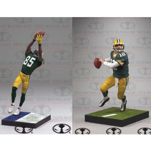 NFL 2-Pack Packers Aaron Rodgers + Greg Jennings