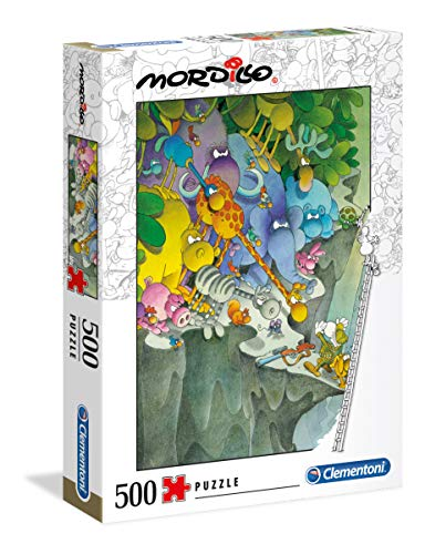 Clementoni- Puzzle 500 Piezas Mordillo : The Surrender (35080.3)