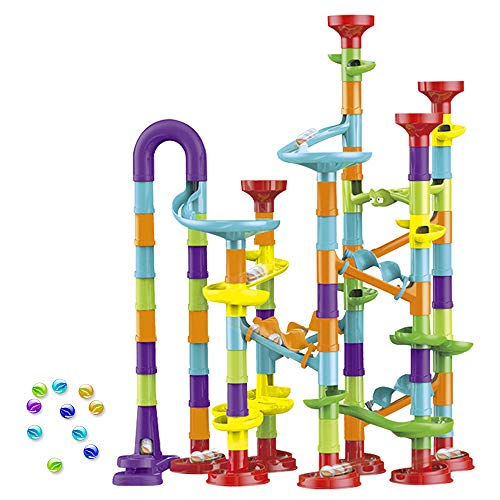 wgde toy Toys Gifts for 3-12 Year Old Boys Girls, Marble Run Sets for Kids...
