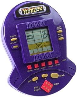Yahtzee Jackpot Electronic Handheld Casino Style Game