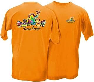 Retro Frog Adult Short Sleeve T-Shirt - Great Lightweight Cotton T-Shirt