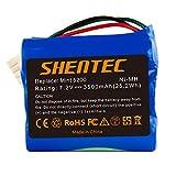 Shentec 7.2V 3500mAh Ni-MH di ricambio per Batteria iRobot Mint 5200 Braava 380 380T 390 390T Mint 5200 5200B 5200C Robot lavasciuga pavimenti Ni-MH
