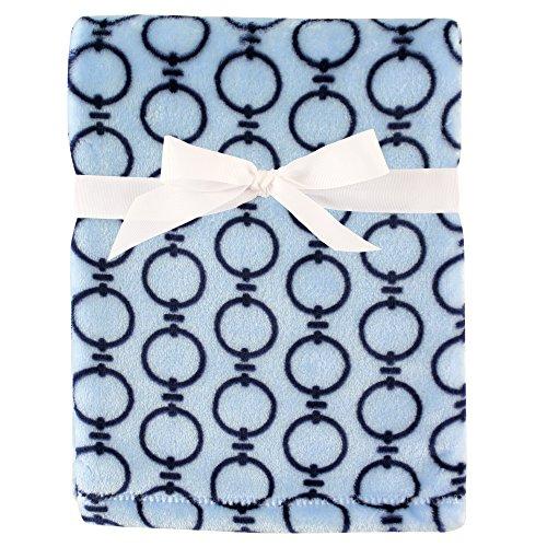 Hudson Baby Unisex Baby Silky Plush Blanket, Links, One Size