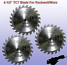 Pack of 3 wood TCT 24T 4-1/2