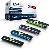 4 cartuchos de tóner compatibles con Brother DCP-L 3500Series 3510CDW 3550CDW HL-L 3200Series 3210CW 3230CDW 3270CDW 3280CDW TN243 TN 243 TN247 TN 247 negro, azul, rojo y amarillo - Color Pro Serie
