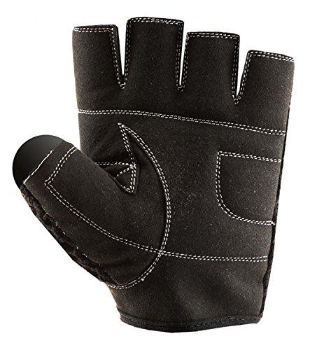 C.P. Sports Trainings Fitness Handschuh Klassik, Schwarz/Weiß, XXL, 38584 - 4