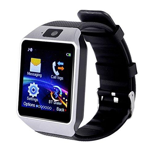 Smartwatch DZ09 Nuovo Orologio da polso Fitness Bluetooth con Touch Screen. Fotocamera con Slot per SIM Card 2.0. Supporta Schede TF per IOS Android Samsung Huawei Xiaomi Sony LG HTC Iphone7/6s/6/5s/5