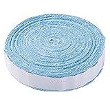 10M Raqueta de Tenis de bádminton Antideslizante Toalla de algodón Agarre Toalla Grande Carrete Empuñadura Roll Overgrip Cinta de Sudor Cintas absorbentes (Color : Sky Blue)