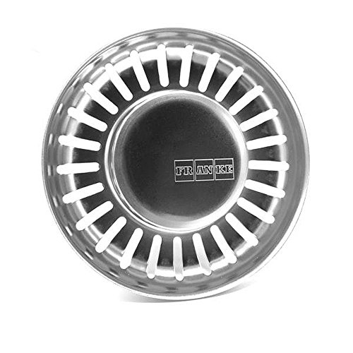 FRANKE Siebkorb Excenter Ventil für Küchenspülen - 3 1/2 Zoll Ablauf = Körbchen-Durchmesser ca. 81mm (133.0005.611)