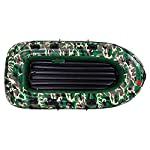 intent_Side 10ft Inflatable Boat Series Explorer Touring Kayak Canoe Boat Set 4-Person PVC Inflatable Rafting Fishing Dinghy Tender Pontoon Boat with Paddles and Air Pump for Water Sports Fun 14 ➤【Qualified Material】: Our inflatable boat is made of durable 3x Layer PVC material which is saline-alkali and sunshine resistance, anti-aging and corrosion resistance, with a soft inflatable floor that is not easily scratched by sharps and provides long-term water entertainment. ➤【No Leak】: Our inflatable boats are Designed with 3 independent air tubes, made from the highest quality 1100D PVC fabric available to ensure your safety. Thermal bonding seams provide first-class air retention and fine manufacturing processes to ensure no leaks which is the mix of security and practicality. ➤【Have Fun on Water】: This is a dinghy that can be rowed, sailed and motored. Take a breath, put this portable dinghy in the truck of your car, take your family or friends, have a pleasant drifting on the lake or a exciting surfing on the sea.