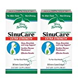 Terry Naturally SinuCare Extra Strength (2 Pack) - 325 mg Eucalyptus, Myrtle & Lemon Zest Oil Complex, 30 Softgels - Sinus, Lung & Bronchial Support Supplement, Non-Drowsy - Non-GMO, Gluten-Free - 30
