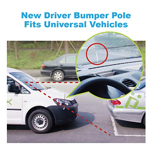 Hypersonic Corner Antenna Bumper Pole Safety Guard For Universal Car Van