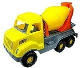 Polesie 37350 Cargo Cement-Mixer-Toy Vehicles, Multi Colour
