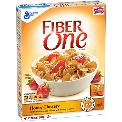 Fiber One Raisin Bran Clusters Cereal
