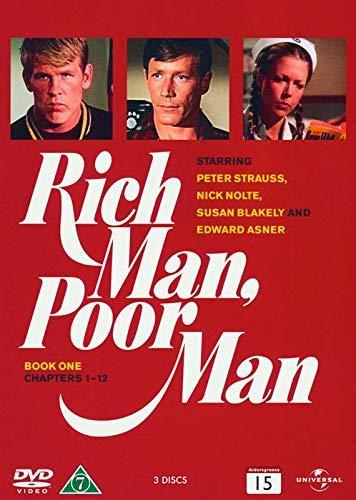 Hombre rico, hombre pobre / Rich Man, Poor Man (Book 1) - 3-DVD Set ( Rich Man, Poor Man (Book One - Chapters 1-12) ) [ Origen Danés, Ningun Idioma Espanol ]