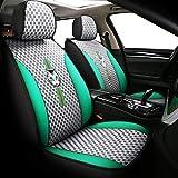 CUzzhtzy Fundas de asiento de coche para Ford Focus Mk1 2 Ranger Mondeo Mk4 Explorer Figo Transit Custom Fusion Tourneo Connect asientos de coche ayudan a proteger el asiento (color: gris)