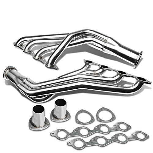 DNA Motoring HDSBBCLT Stainless Steel Exhaust Header Manifold [For 67-72 396/402/427/454 V8 Chevy BBC]