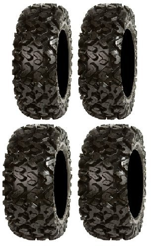 Full set of Sedona Rip Saw 26x9-12 and 26x11-12 ATV Tires (4)