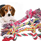 <span class='highlight'><span class='highlight'>Huakaimaoyi</span></span> Dog Toy, Puppy Toy, Rope Chew Toy, Cotton Knot Toy, Non-Toxic And Odorless, Sturdy Better, Teeth Cleaning For Small Medium Dogs 5Pcs-5Pcs Random_M