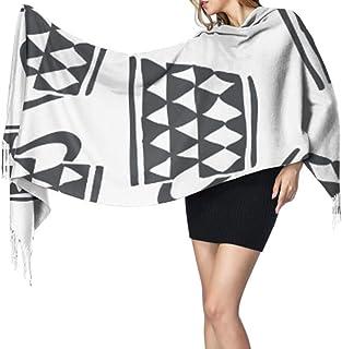 27 'x77' Bufanda con flecos Diferentes tazas de colores Abrigo para niñas Chal Bufanda para niñas Elegante manta cálida gr...