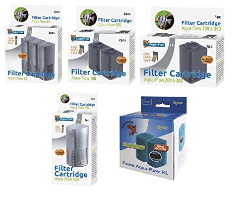 Superfish 573039/3021 Aquaflow 200 EasyClick Ersatz Kartusche