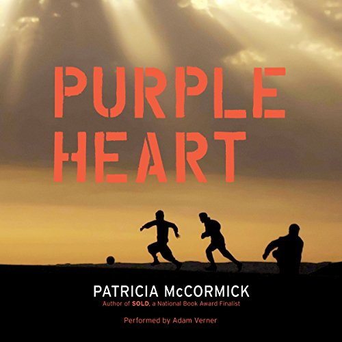 Purple Heart audiobook cover art