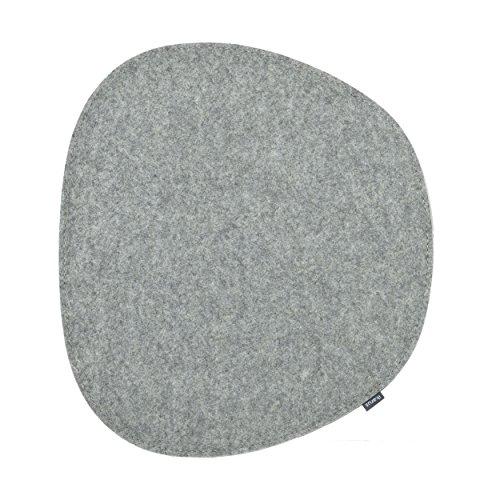 ikarus Sitzkissen 2-lagig Silbergrau (passendes Zubehör für Eames Side Chair)