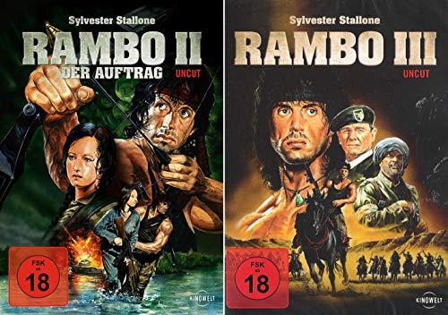 Rambo 2 - Der Auftrag, Uncut + Rambo 3, Uncut Duo-Set (2-DVD)