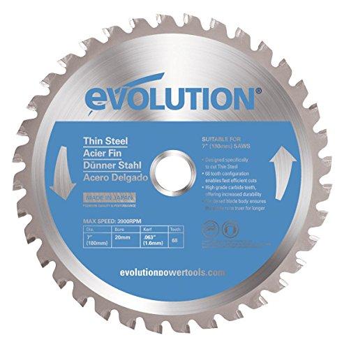 Evolution Power Tools/ /Acier Evoblade355ts Evolution 355/mm d/épaisseur en acier T/ête en carbure Lame Argent 0/V 355/mm