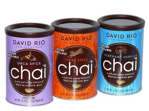 David Rio -  Chai Tea 3 er Set