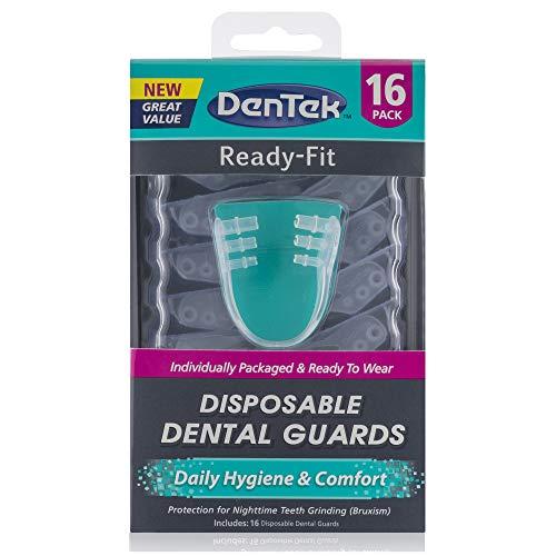 DenTek Ready-Fit Disposable Dental Guards, 16 Count