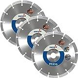 Marcrist Diamanttrennscheibe - Diamantscheibe - 150mm - FC350 - für Bepo FFS150 FFS151 - Diamant Sägeblatt für Montagefräsen