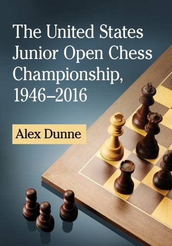The United States Junior Open Chess Championship, 1946-2016