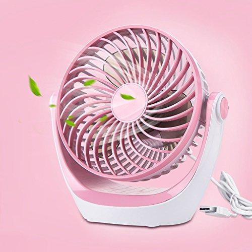 Mini Ventilatore Mini ventilatore USB, mini portatile ricaricabile muto portatile del ventilatore dell'ufficio del dormitorio dello studente del ventilatore del mini ventilatore, ventilatore di viaggi