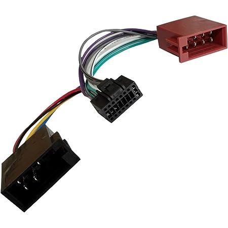 Aerzetix Z2 Iso Konverter Adapter Kabel Radio Adapter Kabel Stecker Iso Kabel Verbindungskabel Für Pioneer Auto