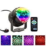 Disco Light, NIAGUOJI Sound Activated Party Light with Remote Control Disco Ball Lights