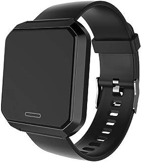 XNNDD Bluetooth Fitness Cámara de Control Remoto Moda Reloj Elegante Calorías Podómetro Movimiento Resistente al Polvo y al Polvo