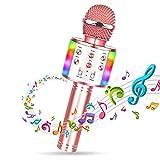 WEARXI Kinder Karaoke Mikrofon Mädchen Junge Geschenke Spielzeug 7-14 Jahre - Drahtloses Bluetooth Kindermikrofon für Nikolaus Geschenke, Geburtstags Geschenkideen
