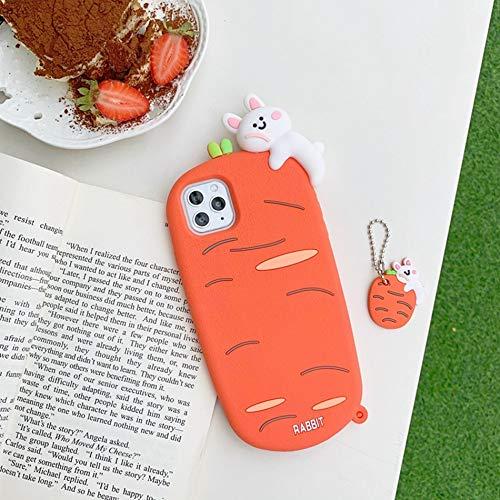HNZZ Tmrtcgy Caja Linda del Oso de la Historieta para el iPhone 12 11 Pro XS MAX Funda de Silicona para iPhone 12 Mini XR x 7 8 Plus Cases Anillo de Correa (Color : CAP58 F, Size : Iphone7Plus 8Plus)