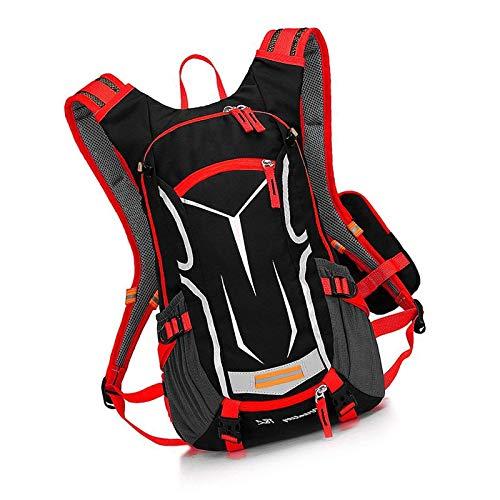 Cycling Backpack Biking Bike Rucksack For Outdoor Sports Running Red