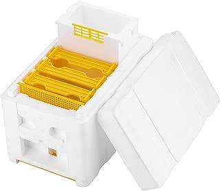 Beekeeping Box Bee King Breed Box Hive Box, Pollination Box Beekeeping Kits Tools Accessory