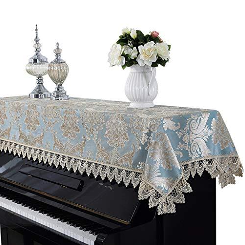 Cubierta de Piano de Encaje Tela Europea Cubierta de Piano