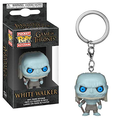 HBO Game of Thrones - Vinyl Figur Schlüsselanhänger - White Walker