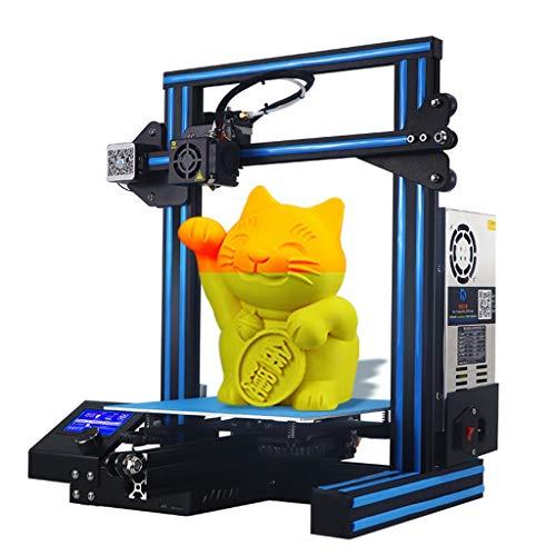 DM-DYJ Maison Imprimante 3D, FDM ± 0.1mm Panne Électrique Industrie Éducation, Taille d'impression 220 * 220 * 250mm