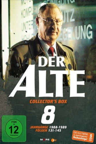 Der Alte - Collector's Box Vol. 8, Folge 131-145 (5 DVDs)