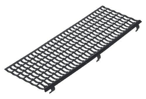 INEFA Laubfangstreifen, Dachrinnenschutz, NW 100/125/150, Schwarz 100 cm | 30 Stück