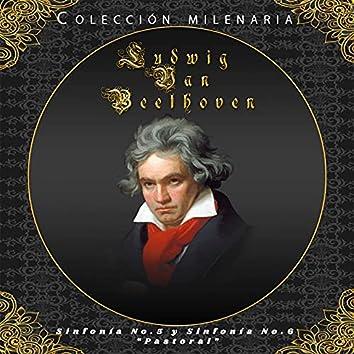 """Colección Milenaria - Ludwig Van Beethoven """"Sinfonía No. 5 y Sinfonía No. 6 """"Pastoral"""""""